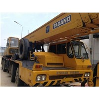 Used condition tadano 50t truck crane second hand tadano TG500E mobile crane for promotion