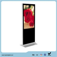 "42"" Shopping Center Floor Standing LCD Advertising Display, digital signage display stand"