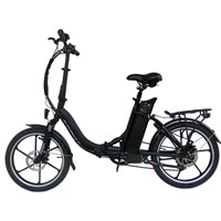 Aluminum Alloy Electric Bike of One-Piece Wheel CF-TDN13Z
