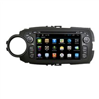 Android In Car Video Player Toyota Yaris 2012 Multimedia GPS Dvd Radio Car Monitor