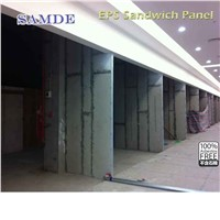 Fast construction material eps sandwich wall panel for warehouse 2440*610mm