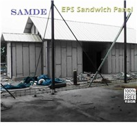 Fire protection Expanded Polystyrene insulated sandwich wall panels