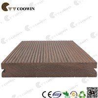 High Quality wood plastic composite floor decking