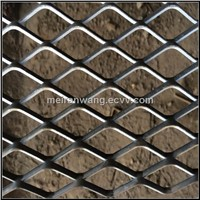 expanded metal fence panel
