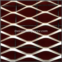 decorative aluminum expanded metal mesh panels/Decorative Alumium Expanded Metal Mesh