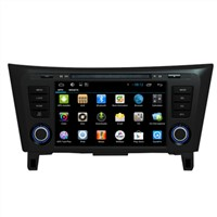 In Car DVD Player Bluetooth Nissan X-trail / Qashqai GPS / Glonass Navigation Radio FM