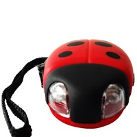 Ladybug Flashlight,Led Flashlight,Crank Torch DD-073