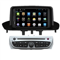 Pure Android Car DVD Video Player Renault Megane 2014 / Fluence In Dash PC Navigation