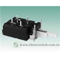 Shanghai Sinmar Electronics KDC-A11-221A Power Switches 4A/8A250VAC 4PIN Switches