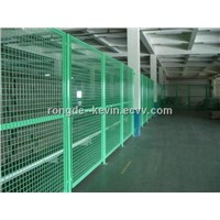 Square Wire Mesh: woven of stainless steel and low carbon wire