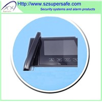 "7"" Color video door phone with sensor buttons"