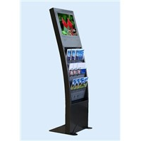 26 inch Floor standing magzine style LCD digital poster