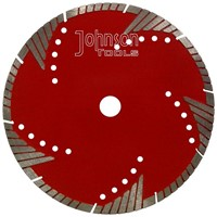 Cutting saw blade: 230mm Sintered turbo saw blade