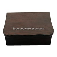 Matt Finish Lacquered Wooden Gift Packing Jewlery Box