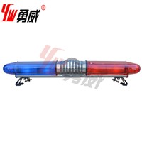100W siren and 100W speaker red led rotating lightbar