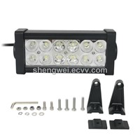 7.5inch 36W 12V 3240lm CREE Double Row off Road LED Light Bar