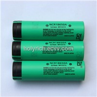 Panasonic NCR18650A Li-ion battery 3.6V 3100mAh lithium Ion battery
