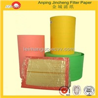 88mm light yellow car air filter paper manufacturers