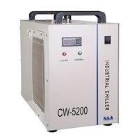 Cooling system Chiller CW5200 of laser cutting machine