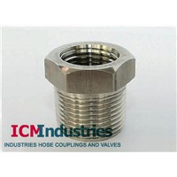 Forged 3000lb stainless steel screw Bushing