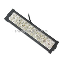 72W 10-30V DC 7200lm off Road LED Light Bar Manufacturers