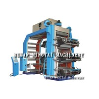 high speed plastic bag flexo printing machine