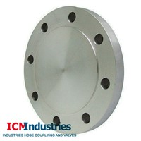 Stainless steel bland flange