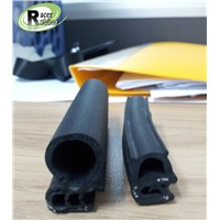 composite rubber seal strip with metal framework