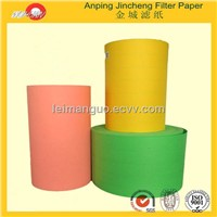 motorcycle parts industrial filter paper roll