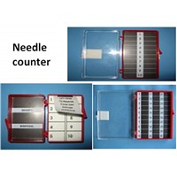 Needle counter/needle box