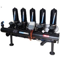 3-inch 5 units Auto Backwashing Disc Water Filter System