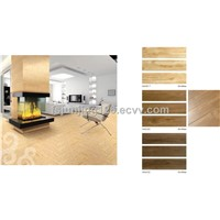 glazed wood ceramic tile
