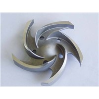 Pump Impeller precision Casting Parts/investment casting steel parts