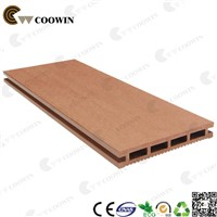outdoor decorative wood plastic deck floor