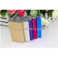 Universal slim power bank, portable charger 10000mAh, universal battery charger