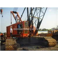 Used Kobelco ph7150 150t crawler crane with original parts second hand kobelco 150t crawler crane