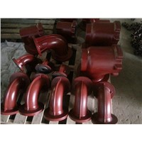 stainless steel pump casting parts/OEM casting pump  parts