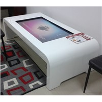 Network interactive digital signage kiosk touch screen multi-media table