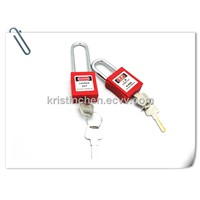 BO-G01 Steel Short Shackle padlock, safety lockout with colorful.