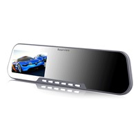 Car camera system,Night car HD DVR Rearview Mirror Vehicle traveling date recorder