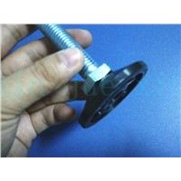 M12 Machine or Chair Adjustable nylon Screw Glide Feet / leg