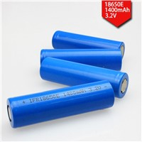 LiFePO4 Battery with 1000-1600mAh 3.2V