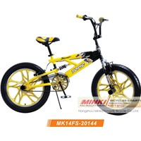 20''x3.0 wheel suspension freestyle bicycle(MK14FS-20144)