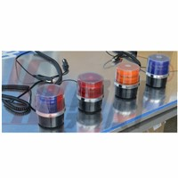 Multi-color LED source beacon warning light