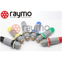 lemo plastic connector,Medical Connector, push pull, PAG/PKG/PRG