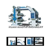 four color plastic carry bag printing machine