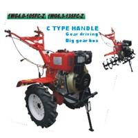 diesel tiller C type handle