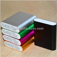 Universal power bank, portable charger 10400mAh, universal battery charger