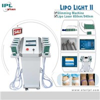 940nm & 650nm lipo laser diode weight loss & cellulite loss body shape machine
