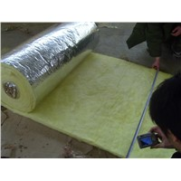 Glass wool/fiber glass wool for house roof and wall thermal insulation